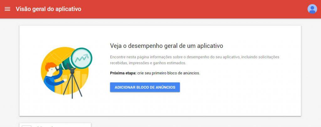 admob aplicativo | crie seu aplicativo
