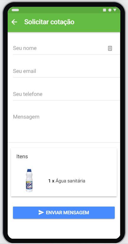 Criação de aplicativo de delivery